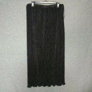 PATRA Pleated Skirt  with Ruffles Maxi Full Length